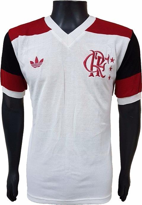 Baby Look Retrô Flamengo 1981 Branca - R  139 23ffc93a2bec7