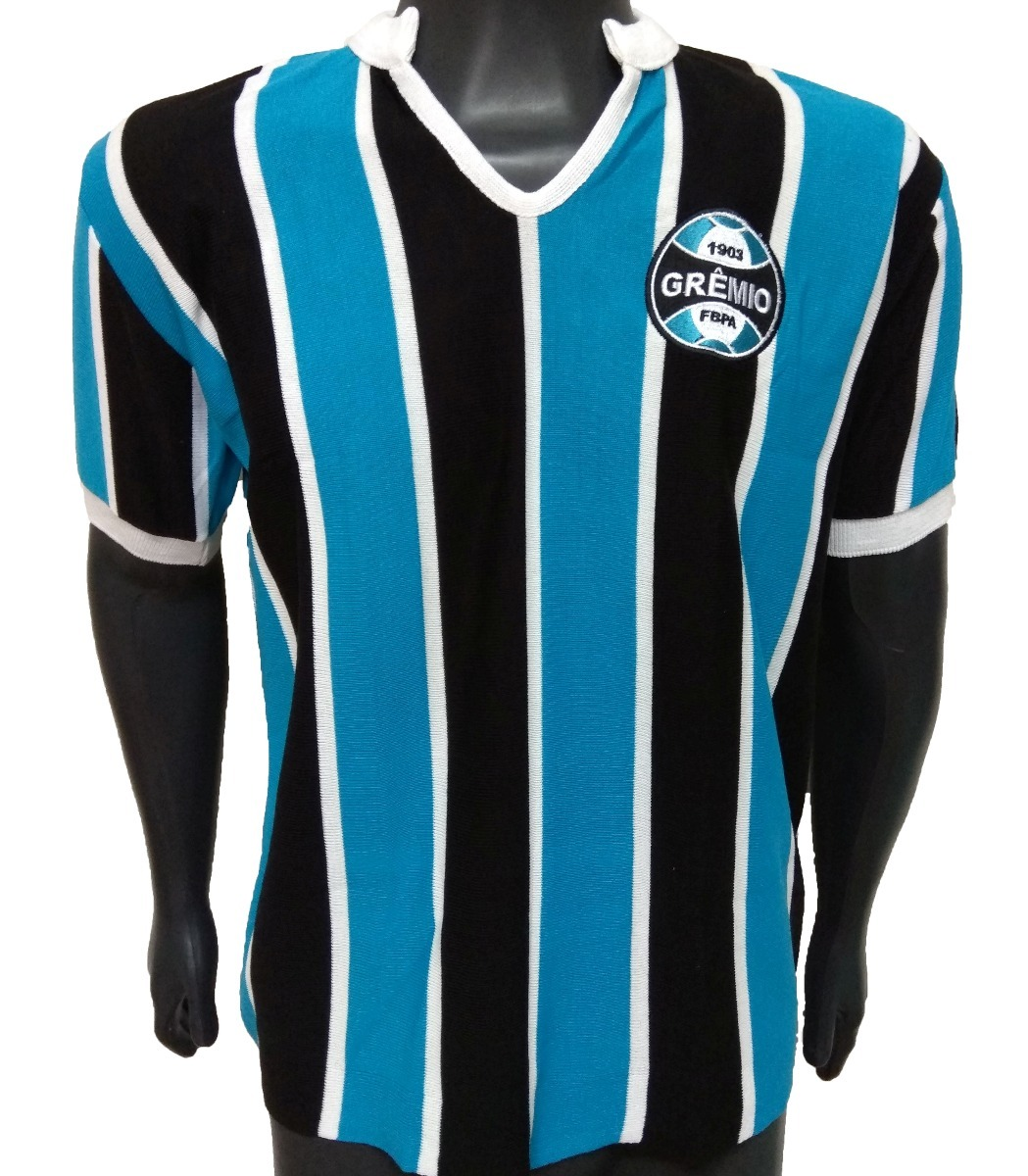 cdc26ccd5c Baby Look Retrô Grêmio 1980 - R$ 139,00 em Mercado Livre