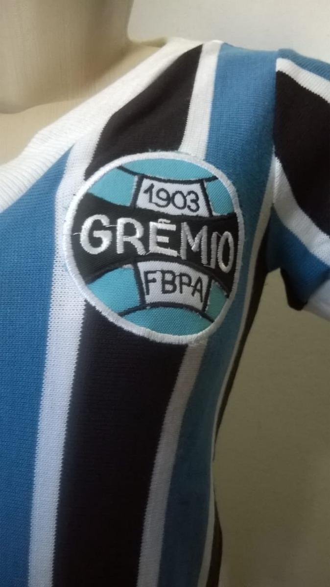 09fc59a3d7c23 Baby Look Retrô Grêmio 1983 Renato Gaúcho Universo Esportivo - R ...