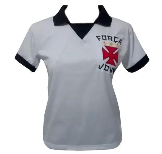 ff4f539d28 Baby Look Retro Torcida Força Jovem Vasco Fjv - R  80
