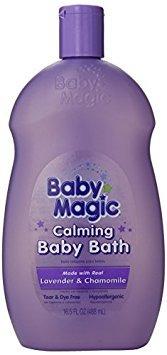 baby magic calmante del baño del bebé - w24