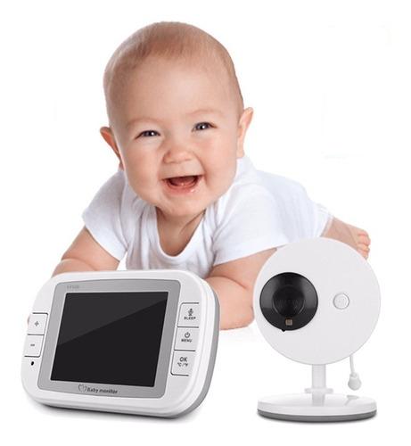 baby monitor call camara bebe seguridad pantalla grande 2018