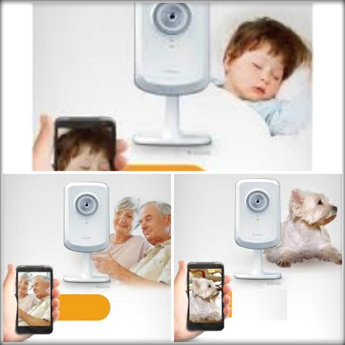 baby monitor c mera ip com acesso via iphone ipad android r 225 00 em mercado livre. Black Bedroom Furniture Sets. Home Design Ideas