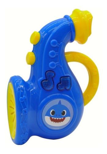 baby shark instrumentos musicales con luz y sonido edu full