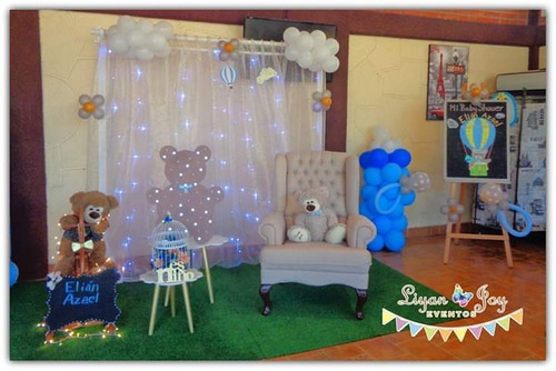 baby shower animadores, set fotográfico