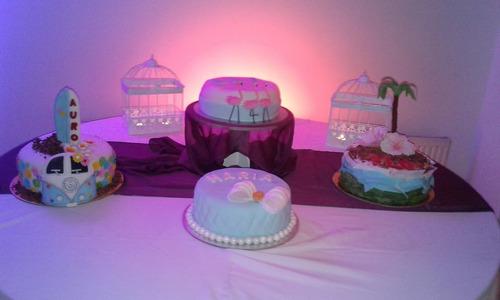 baby shower, bautizos, cumpleaños tematicos, celebraciones