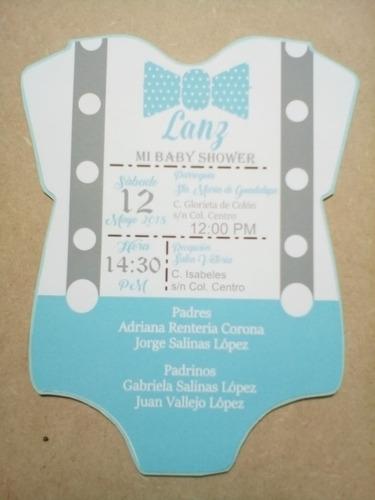 baby shower invitación