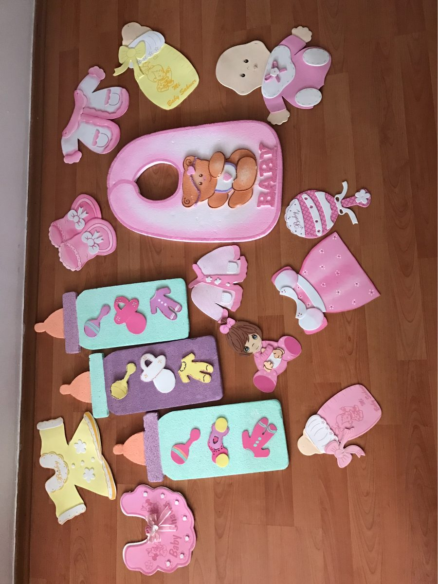 Baby shower ni a decoraci n en mercado libre for Decoracion para pared de baby shower