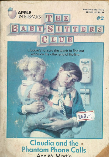 baby sitters club- claudia and the phantom phone calls