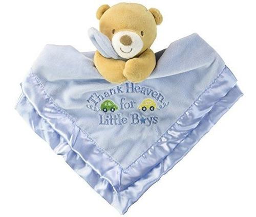 baby starters snuggle buddy con manta y traqueteo gracias al