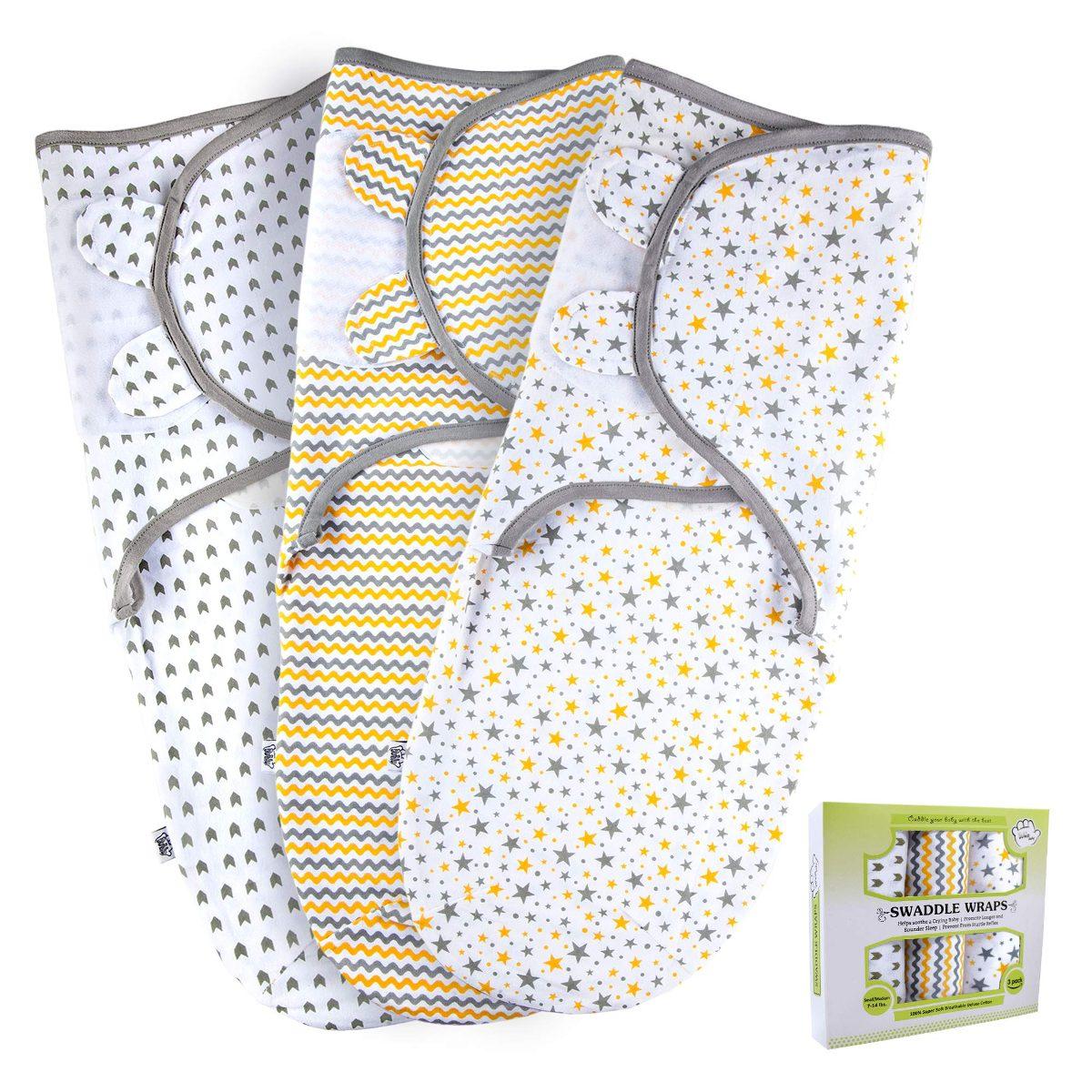 Baby Swaddle Wrap Sack Para Niños Y Niñas Recién Nacidos ...