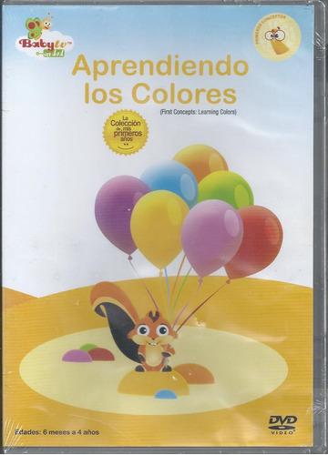 baby tv aprendiendo los colores dvd nacional en español