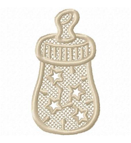 baby unicolor - coleção de matriz de bordado