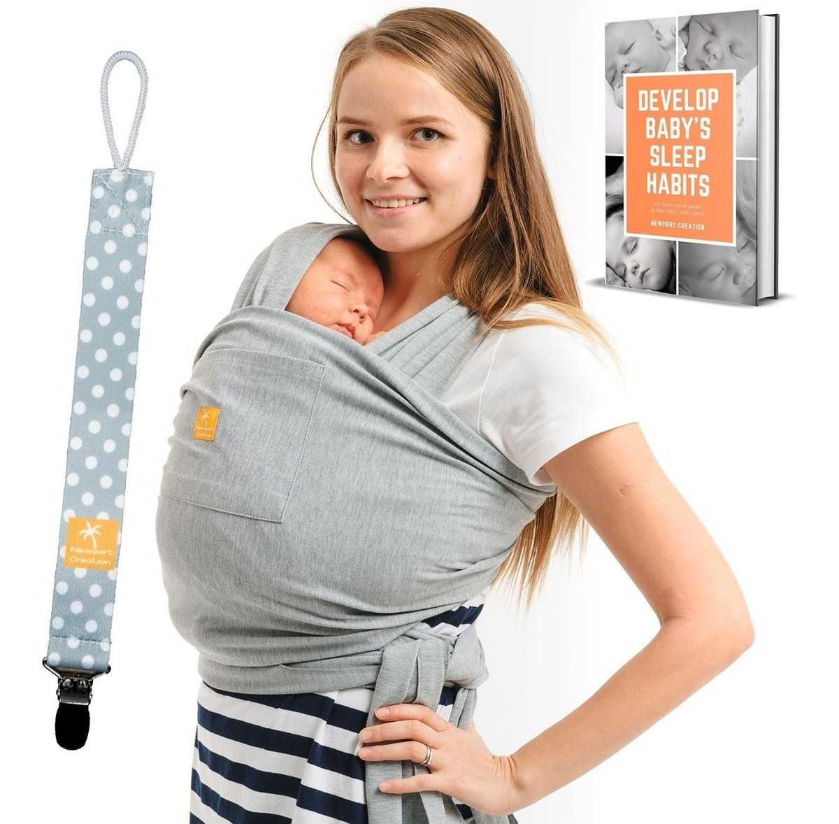 Paquetes Para Bebes Recien Nacidos.Baby Wrap Carrier 5 En 1 Paquete Para Bebes Recien Nacidos