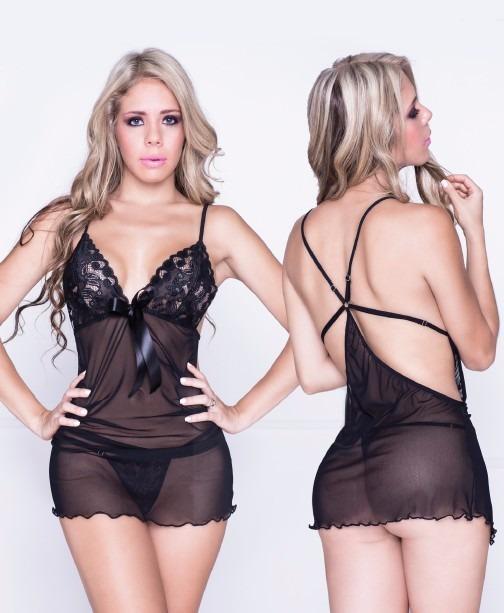 602ebd4617d Babydoll Sexy Sensual Lencería Mujer Intima Ropa Interior - $ 45.900 ...