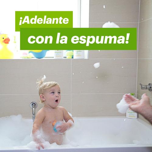 babyganics shampoo y body wash, chamomille verbena, 473ml