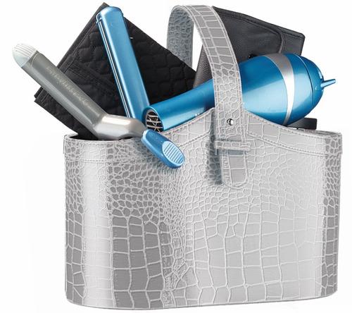 babyliss kit nano titanium tenaza-secadora+plancha-accesorio