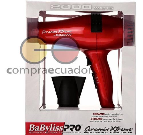 babyliss pro secador de cabello turbo profesional 2000 watts