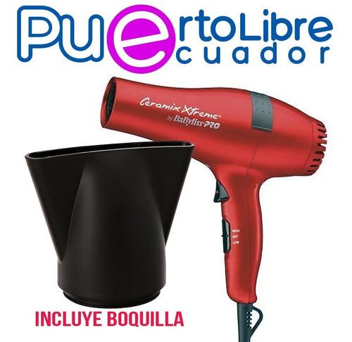 babyliss profesional secador de cabello + plancha 450 grados