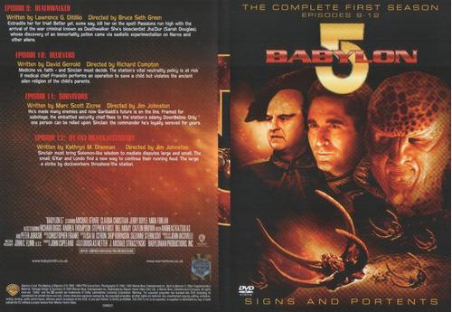 babylon 5 coleccion completa en 41 dvd caja