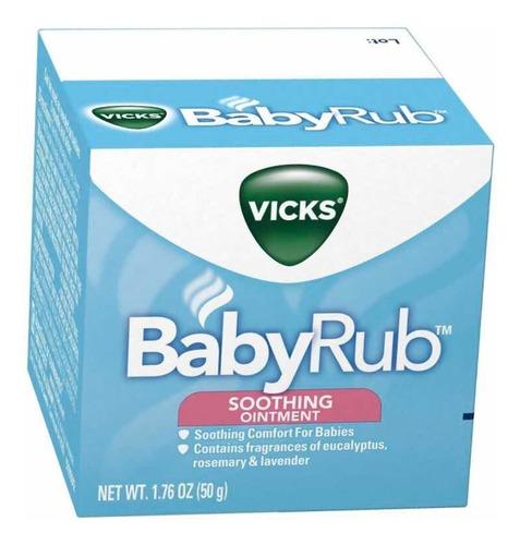babyrub vicks.  pum: $1.060 x gramo