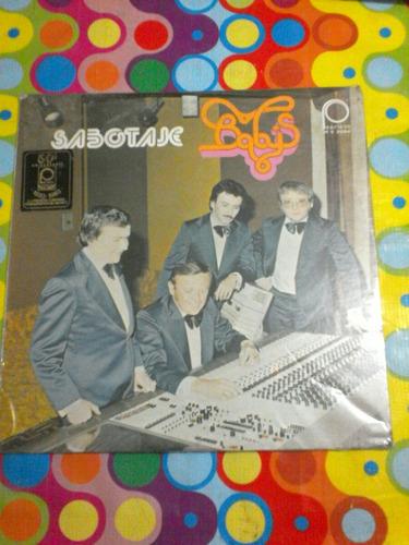 baby's lp sabotaje 1983 sellado