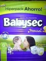 babysec premium, 3 hiperpack-combiná los talles como quiera