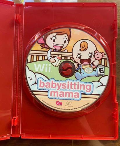 babysitting mama jogo para wii (usado)