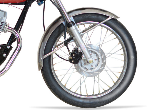 baccio cg classic f 125 moto nueva 0km 2020 freno disco fama
