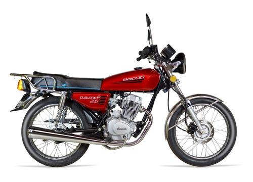 baccio classic 200 cg financiación 36 cuotas delcar motos