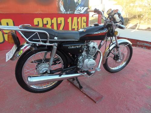 baccio classic f 125 inpecable == motos couto ==