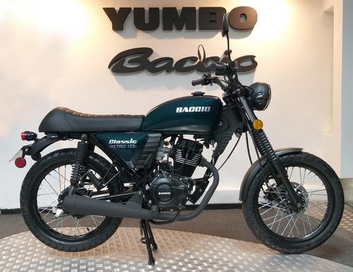 baccio classic retro 125 financiación 36 cuotas delcar motos