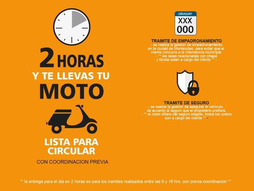 baccio p110x moto 0km 2020 polleritas con baul usb fama