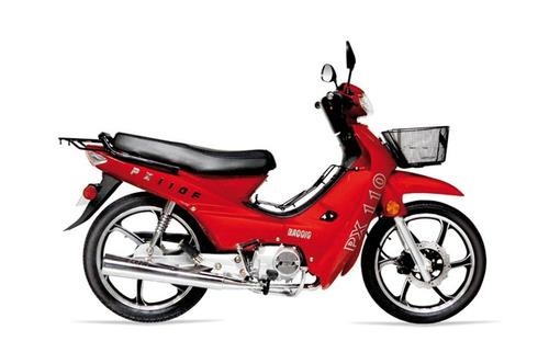baccio pollerita px 110 llantas de aleación delcar motos