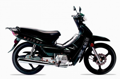 baccio pollerita px 125 f 36 cuotas delcar motos