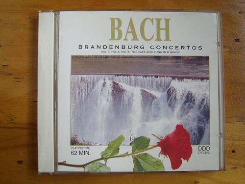 bach, 2 discos- toccatas órgano y conc. brandenburgo 3,4 y 5