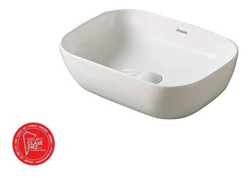 bacha a426 de piazza porcelana sanitario blanco baño rectang