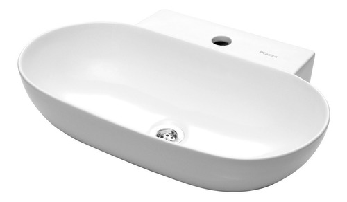 bacha apoyo apoyar loza piazza 560 x 395 mm para baño a171