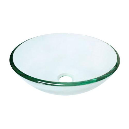 bacha apoyo de baño cristal vidrio para vanitory 41,5 cm