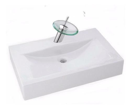 bacha apoyo mallorca loza baño griferia monocomando cascada