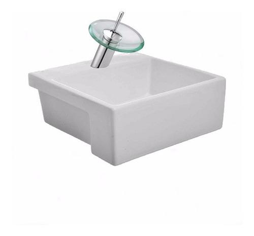bacha apoyo valencia loza baño griferia monocomando cascada