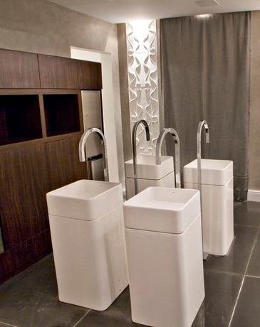 bacha ceramica de piso diseño unico calidad deca lc26