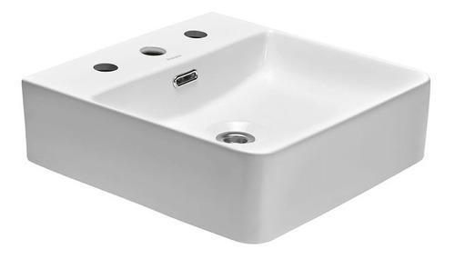 bacha de apoyo baño peirano cuadrada 420 x 420 x 125 bch04/3