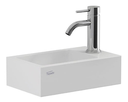 bacha de apoyo ferrum l15kfb toilette blanco baño armónica