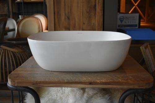 bacha de baño de apoyo - hoesch foster - ovalada - porcelana