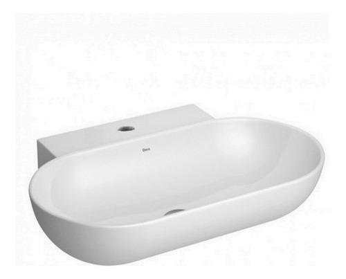 bacha deca l105 lavatorio de apoyo loza blanca