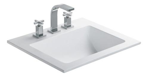 bacha ferrum sobreponer elea symi 3 ag. para baño blanca