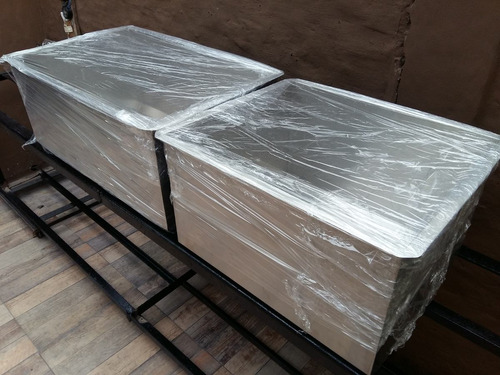 bacha industrial cocina gastronómica 60x40x40 fábrica 1.2mm