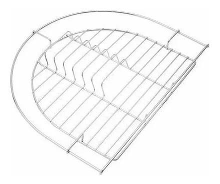 bacha johnson curve si77a + escurreplatos + tabla vidrio tem