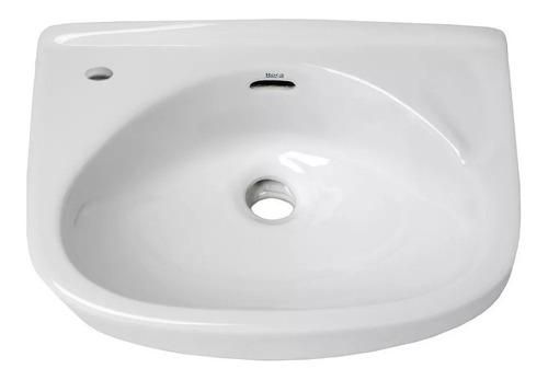 bacha lavatorio colgar ibis roca loza blanca 1era calidad
